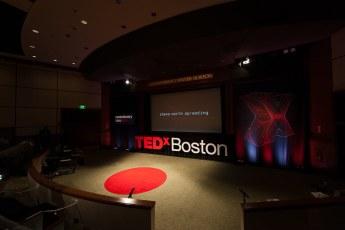 TEDxBoston 2012 Amphitheatre