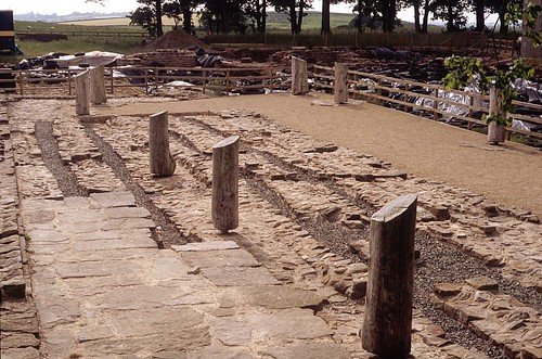 The post-Roman timber hall on the granary