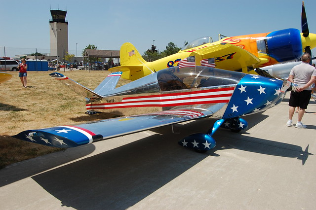 Land & Air Show at the Kenosha Airport.