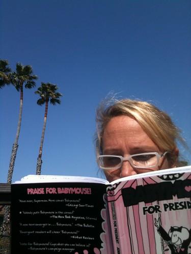Jenni Reading Babymouse