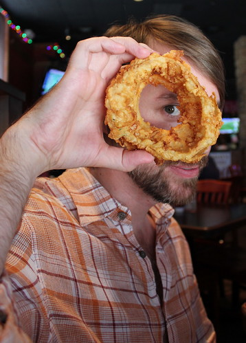 20120526. Portraiture with onion ring.