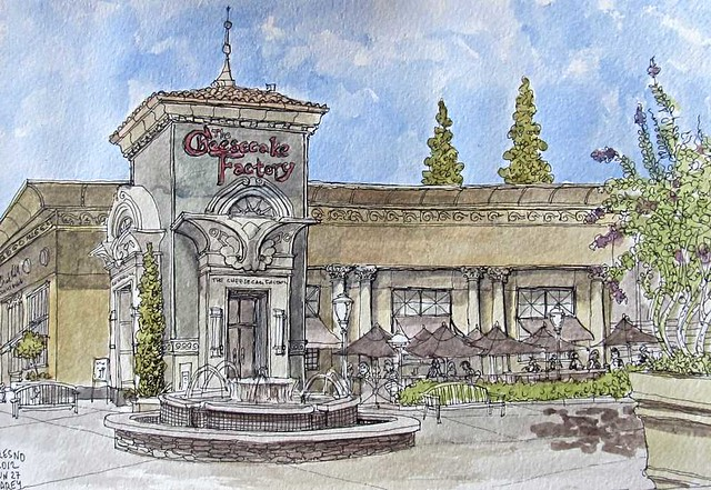 Cheesecake Factory- Fresno, CA