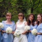 Bride and bridesmaids 2