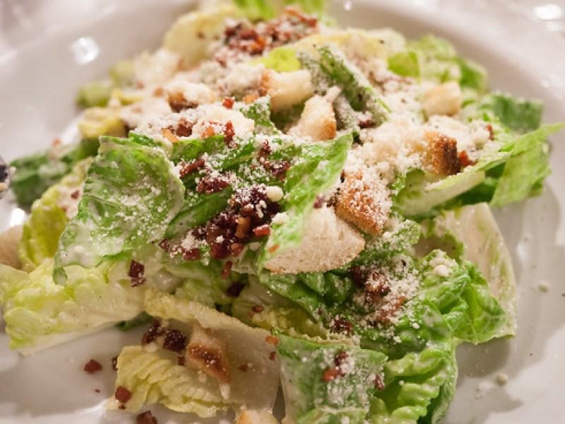 Caesar Salad at Chops Chicago Steakhouse