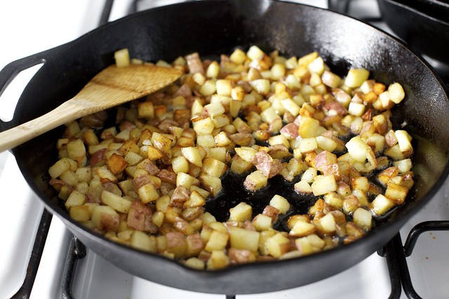 oh yes, potatoes in the bacon fat