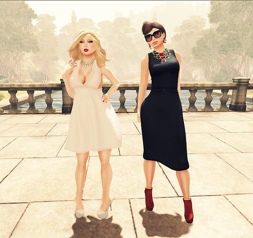 Audrey meets Marilyn
