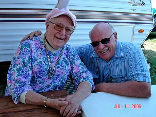 My Grandma Alda and my Dad