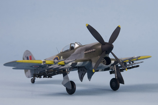 Academy's 1/72 scale Hawker Typhoon