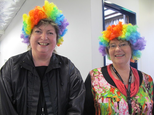 Louise Easter and Sue Colyer