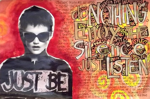 Art Journal Every Day: Just Be