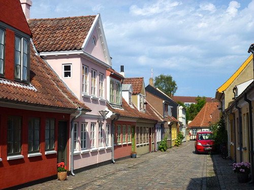 Colourful houses, Odense
