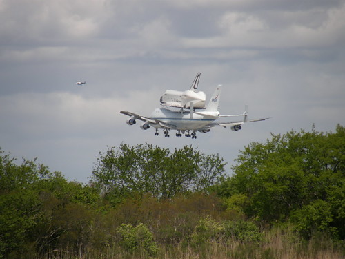 Day 118 - 4/27/12: Space Shuttle Enterprise Landing at JFK Airport
