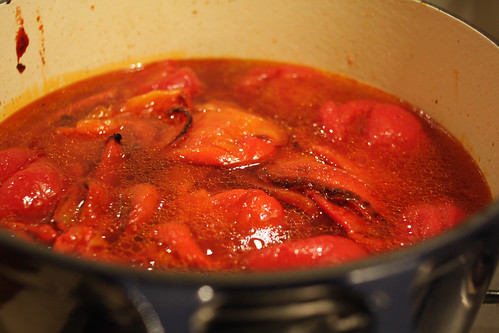 Roasted Red Pepper, Smoked Paprika and Tomato Soup