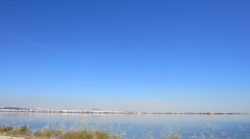 tunis from across the lake