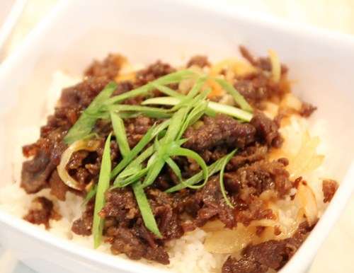 Bulgogi Rice at BonChon