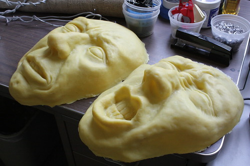 Beeswax casts