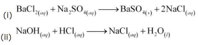 Reactions of acids with bases