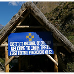 Beginning of Inca Trail - Pisacucho Km 82