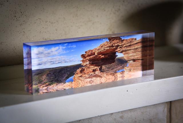 My photographs as Ice blocks