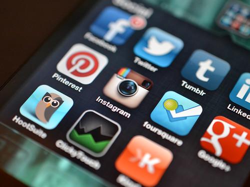 Image based social media apps