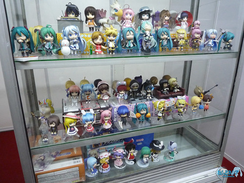 Most Nendoroid has been put inside the display case