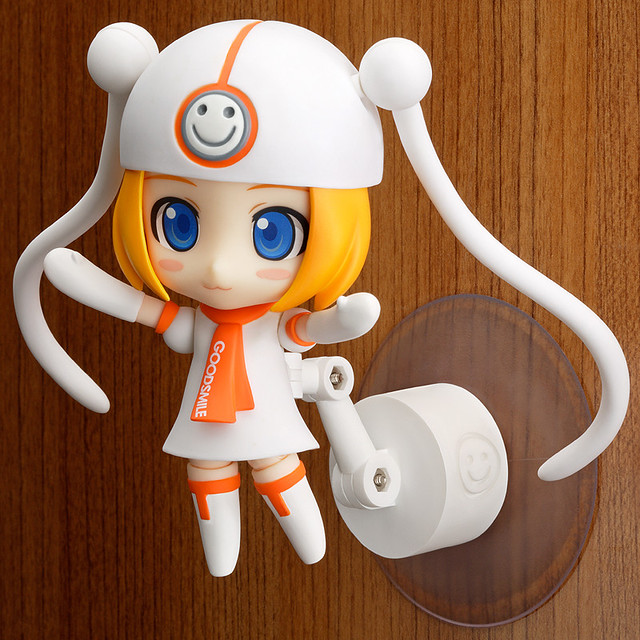 Nendoroid Gumako is displayed with suction stand