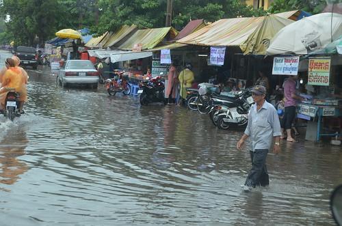 Rainy Phnom Penh