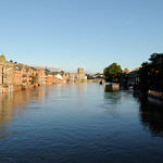The Ouse, wider than normal