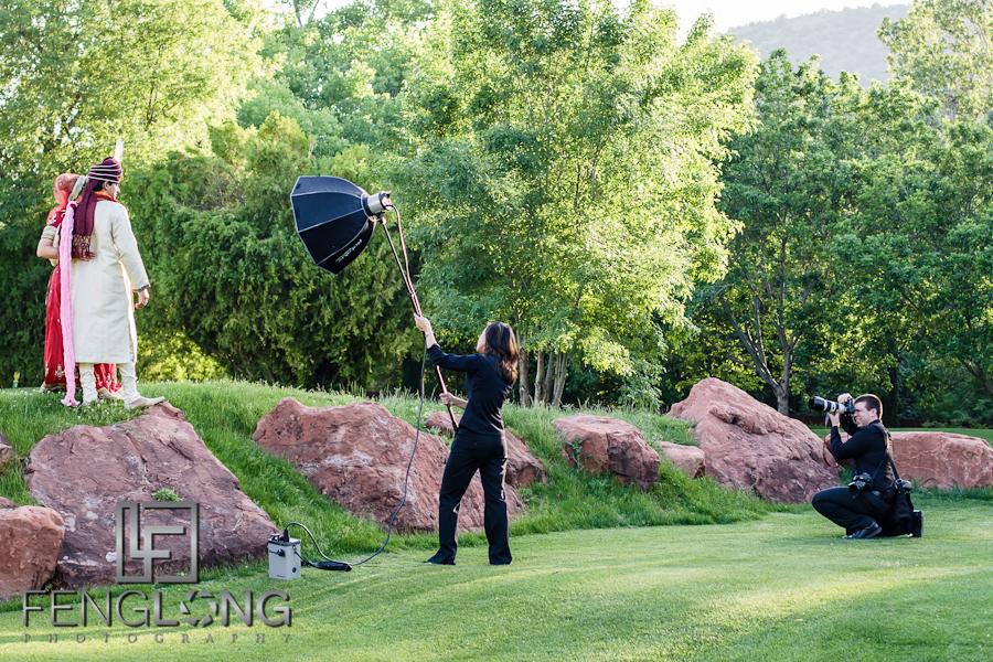 Behind the Scenes | Ashley & Gaurav's Destination Hindu Wedding | Poco Diablo Resort | Sedona Arizona Indian Destination Wedding Photographer