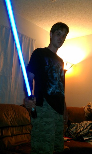 245/366 [2012] - Light Saber by TM2TS