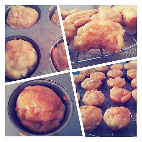 Apple Cheese Muffins