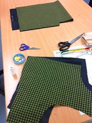fabric cut outs