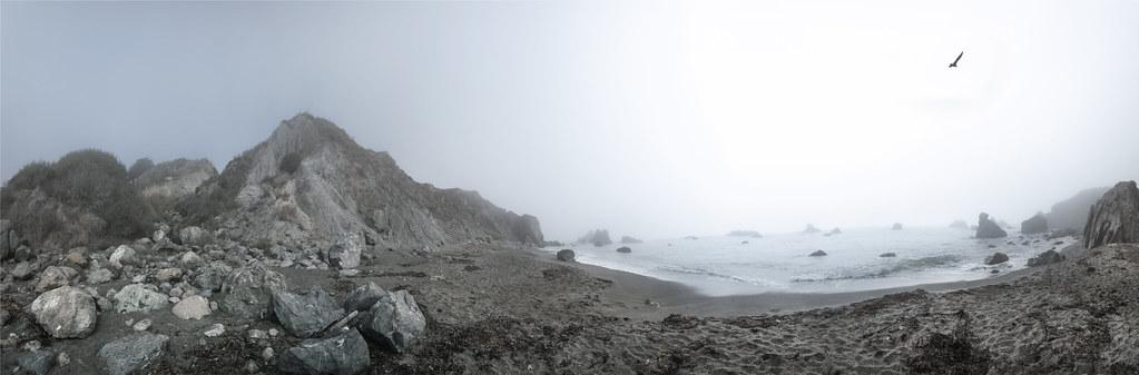 Foggy Coastal Panoramic