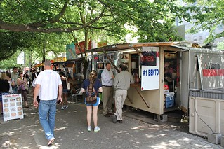 Food trucks in Portland
