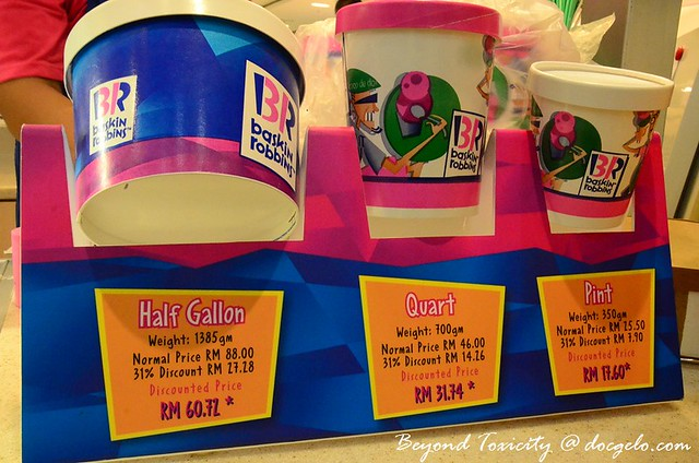 baskin robbins discount every 31st day of month