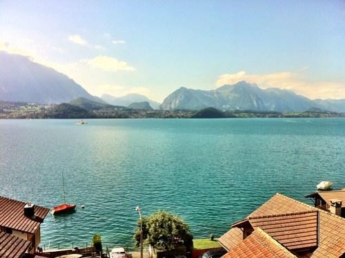 Schweiz, Bern, Merligen
