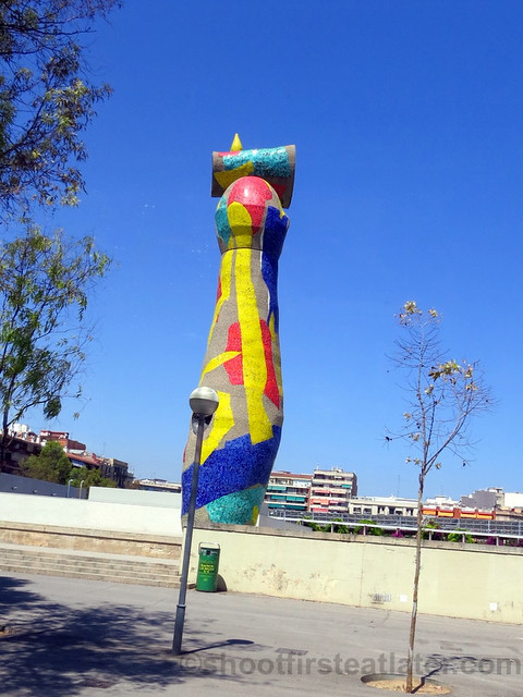 'Dona i Ocell' Sculpture by Joan Miro