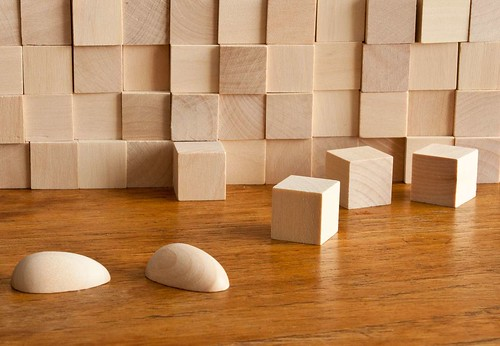 Practice blocks provide a great way to understand light/shadow relationship.