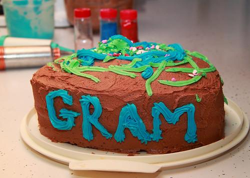 Gram's Birthday Cake