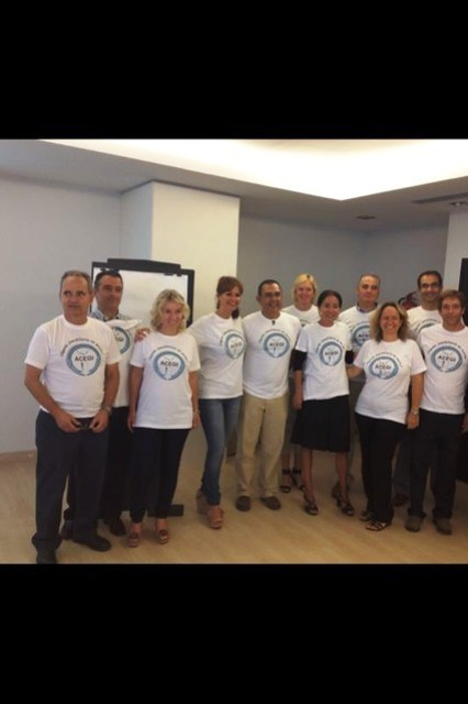 ACEGI Members at CRS course in Las Palmas