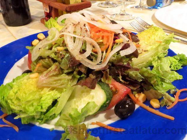 La Fonda Del Port Olimpic- ensalada de la Fonda (mixed salad)