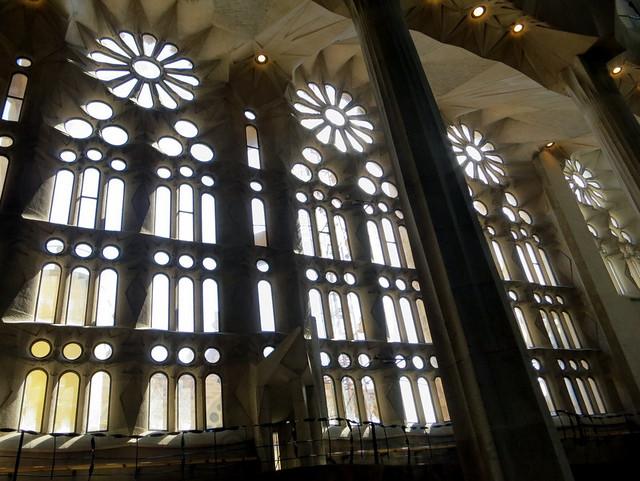 Aisle Windows, Sagrada Familia