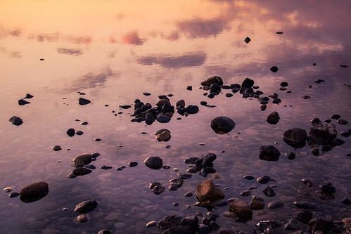 Rocks and Clouds Sunset (Playa de las Americas, Tenerife) - Photo : Gilderic