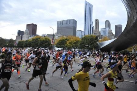 Maraton de Chicago 2012