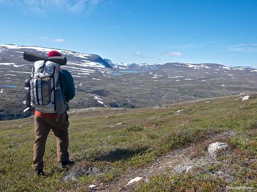 View towards Geatkkutjavri, HMG Porter