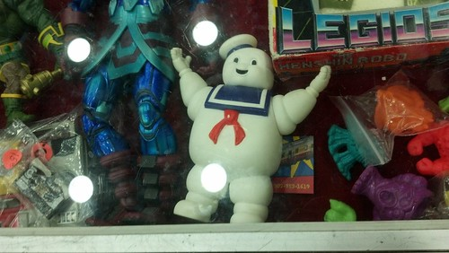 The Stay Puft Marshallow Man Action Figure
