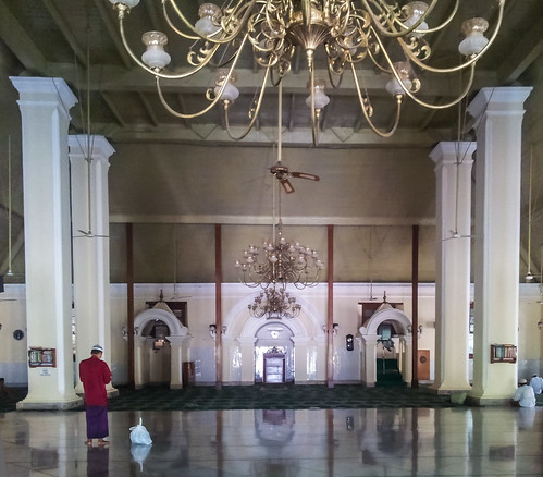 250/366 - Interior of Mosque Jami, Pekalongan by Flubie