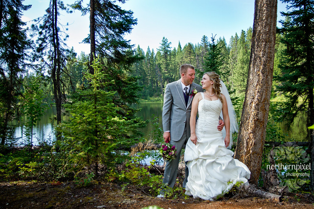 Berman Lake Newlyweds - near Prince George, BC