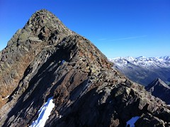 Gipfelgrat Große Windschar 3.041 m