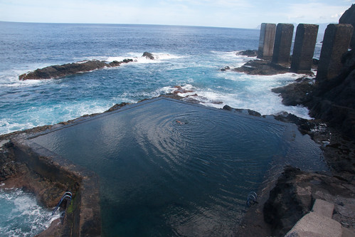 Hermigua natural sea pool
